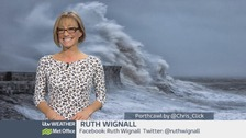 Weather: 83mph winds hit Wales as Storm Imogen arrives!