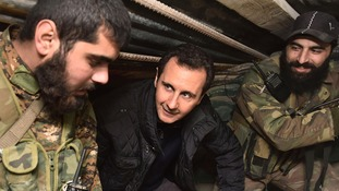 Syrian jail deaths: Assad regime accused of crime of 'extermination'