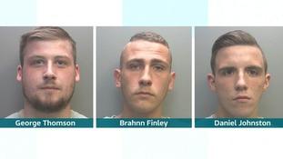 George Thomson, Brahnn Finley and Daniel Johnston.