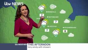 East Midlands Weathers: Showers this evening