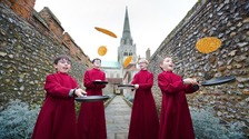 Choristers celebrate Shrove Tuesday - send us your pancake pictures