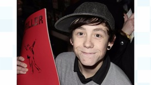 Chris Hardman, known as Lil Chris, in 2009.