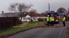 Murder investigation: Couple in 70s attacked before fire started in their home