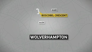 Police were called to Boscobel Crescent, Wolverhampton, at the weekend