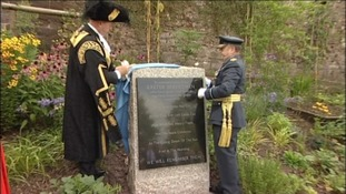 New war memorial unveiled in Exeter