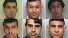 12 men jailed for sexually abusing young girl