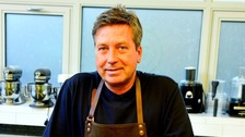 John Torode gave ITV a lesson in pancake making