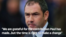 Paul Clement to leave Derby County 'with immediate effect'