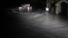 'Car park liable to flooding'