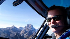 helicopter pilot Roger Gower