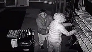 Two suspects at E-Cigarette Outlet