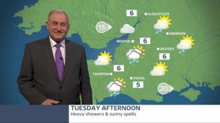 A mixed outlook of heavy showers and sunny spells