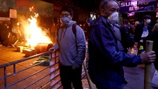 Hong Kong: Protesters clash with police overnight