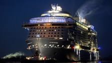 Cruise ship tackles 'hurricane' on voyage to Bahamas