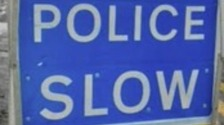 Eight mile tailbacks after accident with two lorries on M40