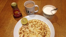 Pancake day: which one do you think looks nicer?