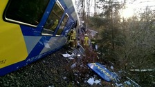 'Several dead and dozens injured' in German train crash