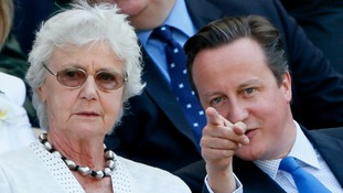 David Cameron's mum signs petition against Conservative cuts