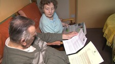 After 88 years elderly couple fear losing home