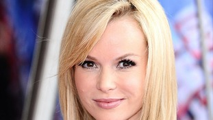 Amanda Holden on the red carpet at the Britain's Got Talent launch screening