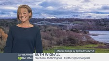 Wales Weather: Cold and wintry overnight!