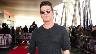Simon Cowell arrives for the launch screening of Britain's Got Talent