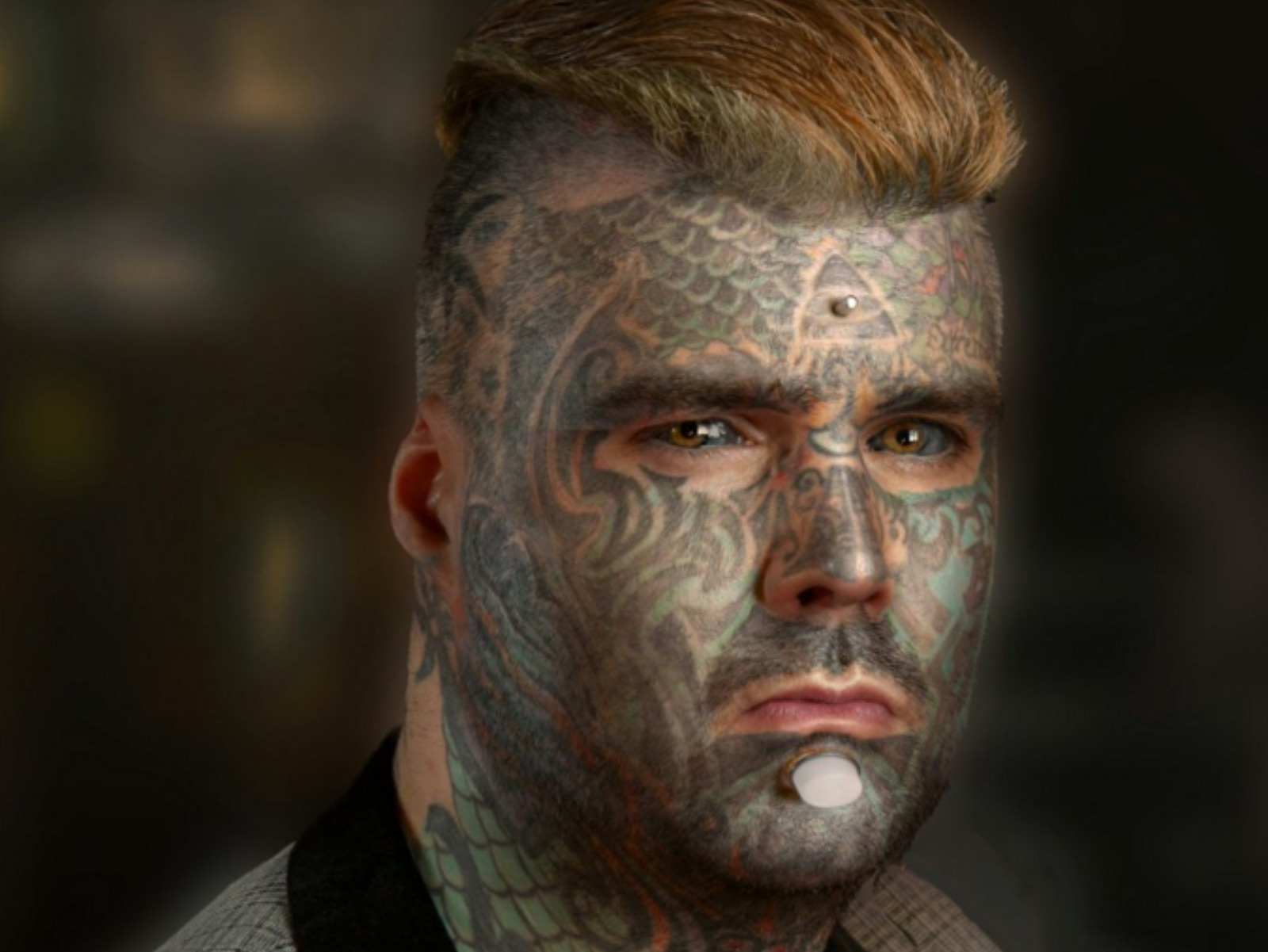 'Most tattooed man in Britain' sets new world record ...