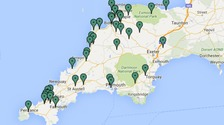 Over four thousand homes without power in Devon and Cornwall