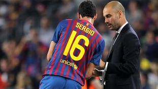 Busquets would be honoured to work with new Man City boss Pep Guardiola