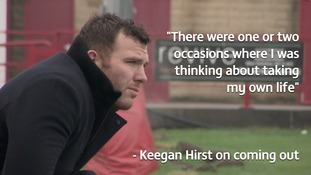 Keegan Hirst: I thought about taking my life before coming out