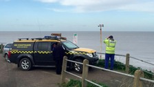 Coastguards spent the morning searching for the whale.