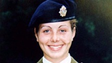 Police questioned Private Cheryl James' death in 2002