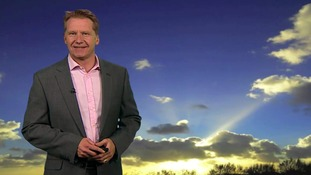 Wednesday morning's weather for the east of the region