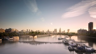 Row over London's 'garden bridge' keeps growing but Boris refuses to budge