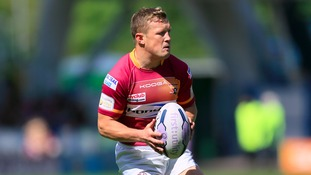 Luke Robinson playing for Huddersfield Giants in June 2015