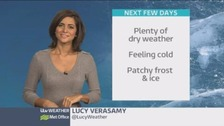 Weather: Calmer and colder