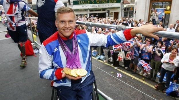 Quadruple gold medal winning Paralympian David Weir