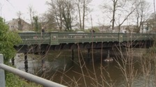 Victoria Bridge in Kendal re-opens