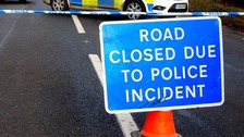 A12 closed after fatal crash