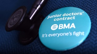 Junior doctors across region strike