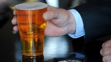 Drink-drive limit 'could fall below a pint of lager'
