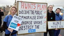 Junior doctors begin second 24-hour walkout