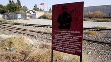 Explosives found as group stopped at Turkey-Syria border
