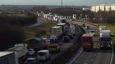 Traffic is still at a standstill from the Boreham junction.