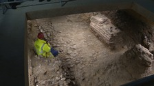 'Extraordinary' Roman arcade found in Colchester
