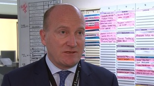 Ipswich Hospital Chief Executive Nick Hulme