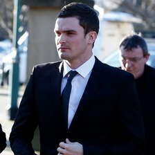 Adam Johnson pleads guilty to one count of sexual activity with a child