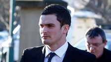 Footballer Adam Johnson pleads guilty to child sex charges