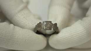 16th-17th century silver ring love token
