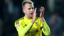 Middlesbrough go top of the Championship